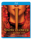 The Blu-Ray DVD of Snow Flower and the Secret Fan.
