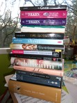 Here are all my dusty books for this year! I'm hoping to knock out at least three of them this month! (: