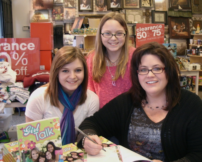 We had a blast signing books at the Family Christian Store in Champaign, IL on 2/4/12!!