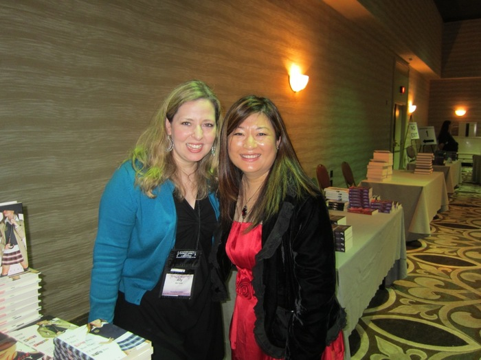 Kailin Gow and Ally Carter at the RT Booklover Convention Teen/YA Signing