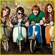 Funny, they're on motercycles!