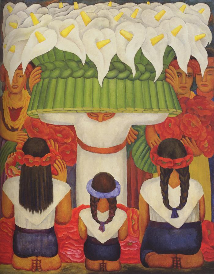 Rivera Drew Upon His Studies Of Italian Renaissance Frescoes And Pre Columbian Art To Produce
