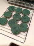 Oh yeah, blue cookies. PERCY JACKSON STYLE!!! Yeah yeah, be jealous.