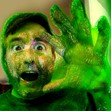 HEEEEELLLLLLP!!! I'm being zombified by GREEN SLIME!!! =:-O