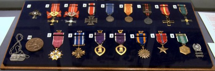 Photos Of Born A Soldier Medals Amp Decorations Earned By