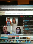 During #TeaTime Melina was picked to ask Tahereh Mafi a question!