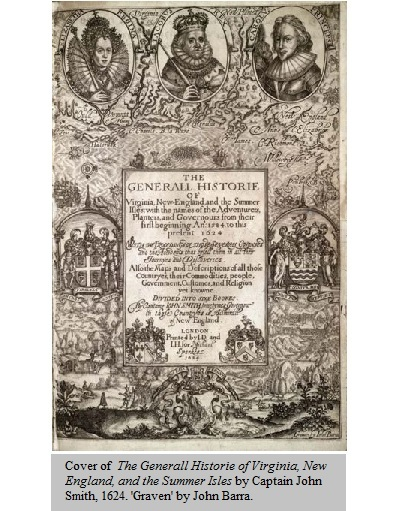 the generall historie of virginia john smith summary