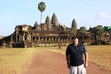Mike at Angkor Wat, Siem Reap, Cambodia, in December 2012.   Use this section to post travel photos of your own!1