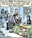 A comical incident at a book signing.