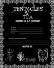 STS EVENT FLYER TENTACLES-N-TEA