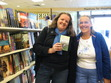 this is a photo of Narelle Atkins and Jenny Blake at Koorong Adelaide. Her first sighting in Aust of her book.