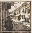 Carl Moll, 1907, woodcut