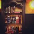 Bookshelf in Hilpeä Hauki to remember Jim