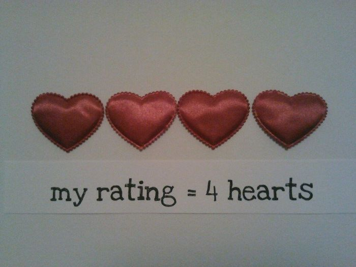 4 hearts rating