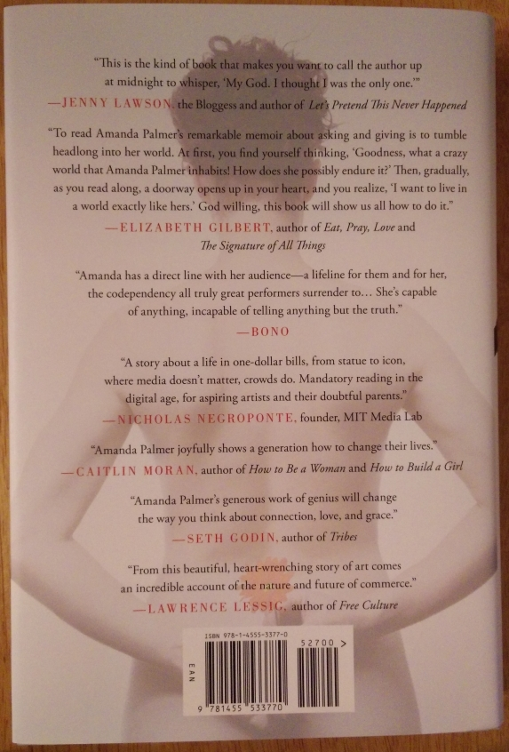 back cover to Hardcover Signed Edition