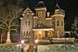 I think we should hold our fall read and discuss here.  Change out to all things orange.  Looks spookier than Christmassy IMHO.  What do you think?  The Reynolds Mansion, B&B Inn.