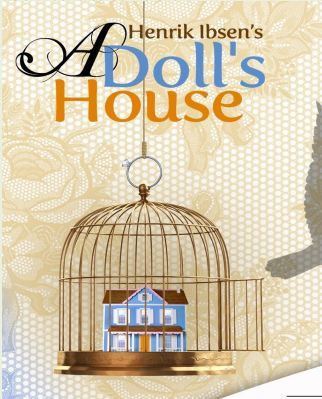 a dolls house setting