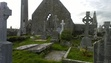 This is part of the interior of a series of 7th C. abbey ruins outside of Gort, County Galway, Eire.