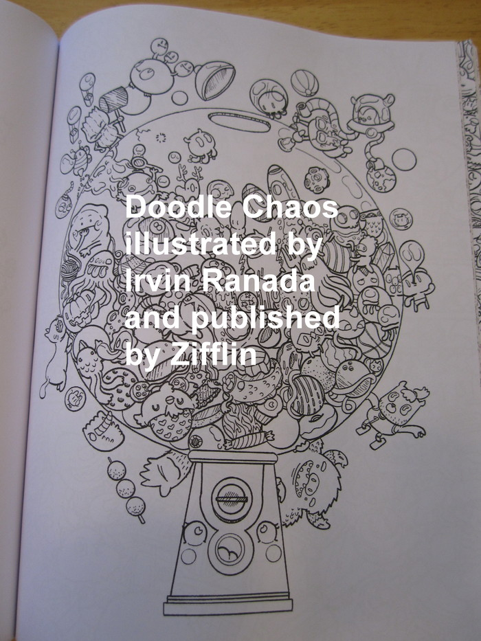 Doodle Chaos: Zifflin's Coloring Book by Zifflin — Reviews, Discussion, Bookclubs, Lists