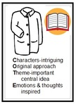 Titles that lead to interesting discussion have: Characters that are intriguing, Original or unique approach, Themes that are important, Emotional or thoughtful inspiration.