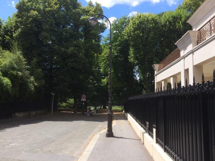 View down Rue Alfred Dehodencq