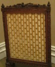 Marie Antoinette's fire screen. The Getty Museum in Los Angeles, CA.
