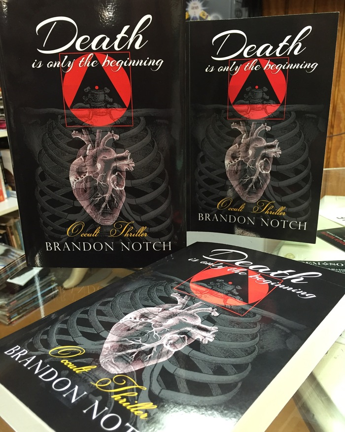 """Death is only the beginning"" Occult thriller by Brandon Notch"
