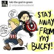 Bucky fans will love this!