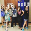 Our awesome teen Whovians show off their sonic screwdrivers!