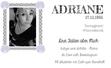 Adriane's Visitenkarte