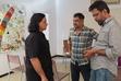 Dir Lingusamy, Cartoonist Keshav and Dir Brindha Sarathy in Story Mirror Creativity Workshop III