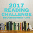 Share pictures of your 2017 Reading Challenge books!