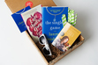 """Our first Literary Fiction box featuring Lauren Weisberger and her latest novel, """"The Singles Game""""!"""