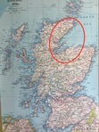 Moray Firth is circled in red