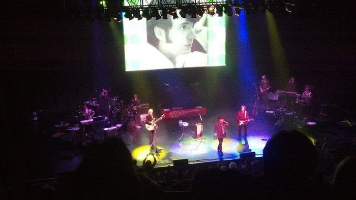 Monkees (Mickey Dolenz, Peter Tork, and Michael Nesmith) at the Chicago Theatre on 11/16/2012