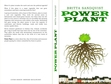 POWER PLANT is a new book, an eco thriller, available on amazon.co.uk , interesting to everybody who like the idea of a plant setting the agenda on earth and not politicians.