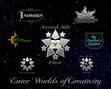 Seventh Star Press family logos