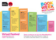 Here's a 'virtual festival' list of events for Book Week Scotland. You can join in on Facebook, Twitter etc... lots of fun! 