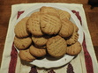 A batch of peanut butter cookies I recently baked!