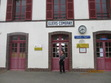 The little railway station at Illiers-Combray. It was here that young Proust arrived with his family to spend vacation days at the home of Dr. Adrien Proust's sister, Elisabeth Amiot.