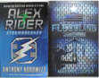 FIRST ORIGINAL COVERS OF ALEX RIDER BOOK 1, 'STORMBREAKER' AND JASON STEED BOOK 1 'FLEDGLING'… WHAT FOLLOWED WAS THE TWO GREATEST TEEN SPY BOOK SERIES EVER WRITTEN
