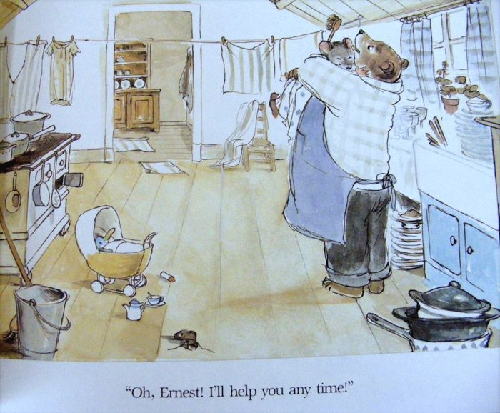 Ernest And Celestine By Gabrielle Vincent