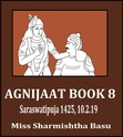 The 8th quarterly of agnijaat is now available in shoptly.com/sharmishthabasu. It is English don't worry.