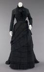 The Black Bombazine Dresses worn by the Sisters in The Cahill Witch Chronicles.