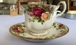 Emma was so delightfully British and charming, we just had to sip tea while reading it. I love this rose teacup because I think it's the picture of elegance (Emma would approve) and looks gorgeous sipping chai tea out of.