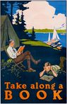 Cool vintage poster to get excited for summer reading!
