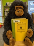 Our friend George is ready to read for February!