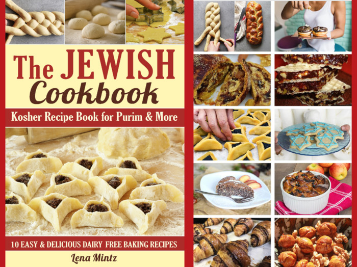 Kosher Recipe Book for Purim & More: 10 easy and delicious dairy free baking recipes