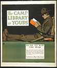 Read to Win the War WWI poster