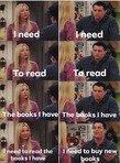 The rationalization that happens in my brain when I want to buy new books....even though I have plenty of books I have not read yet that I already own. 😂